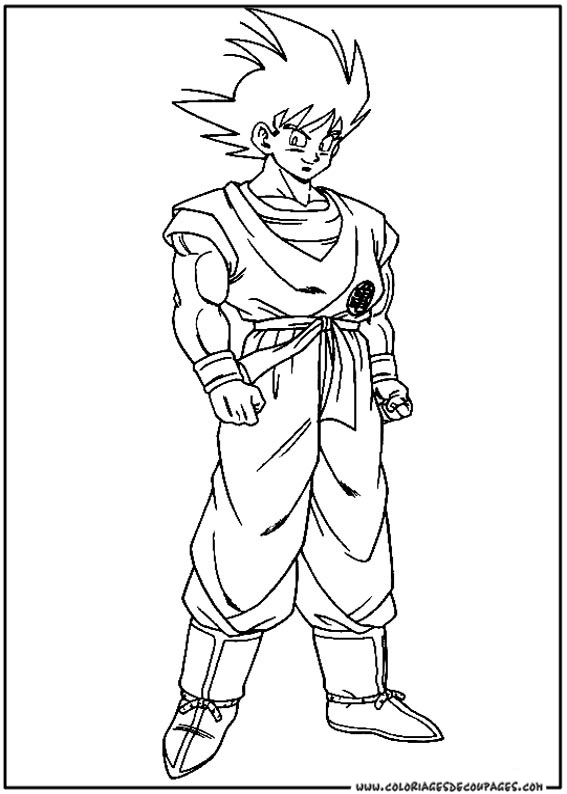 Dragon Ball Z Dessin Simple