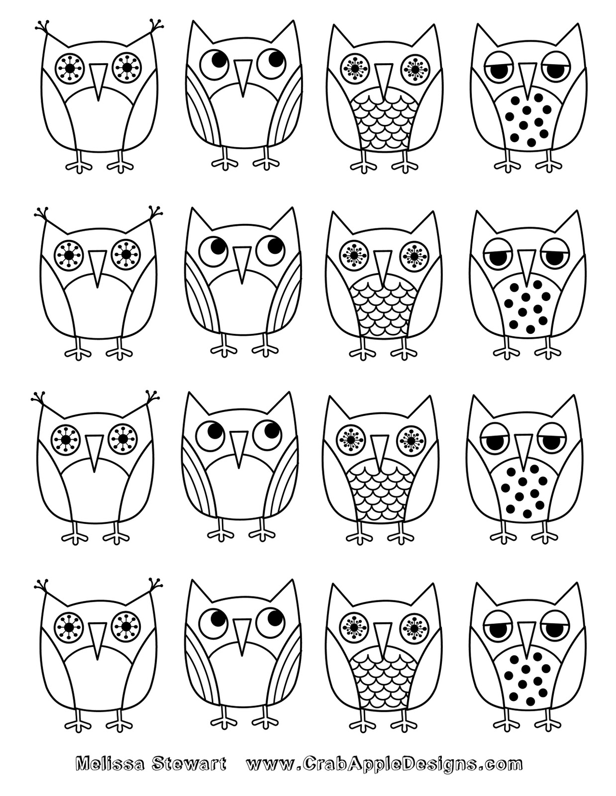 Coloriage Facile Hibou.Pin Dessiner Hibou Dessin De Facile Comment Les Hiboux On Hibou