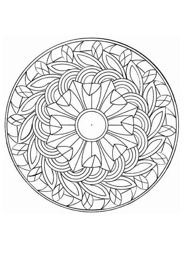 e design scapes coloring pages - photo#18