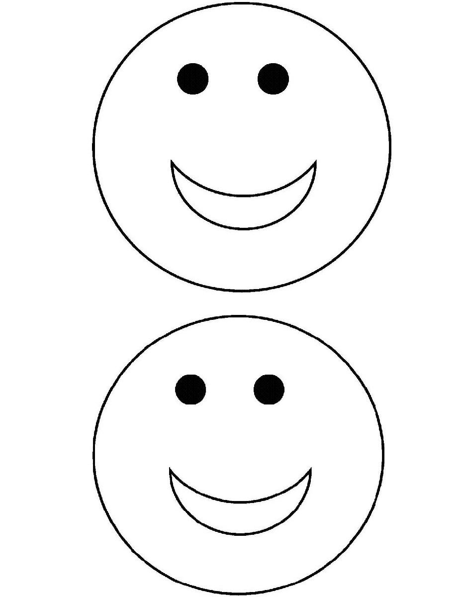 dessin de coloriage Smiley gratuit CP24088